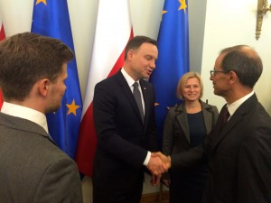 Président polonais