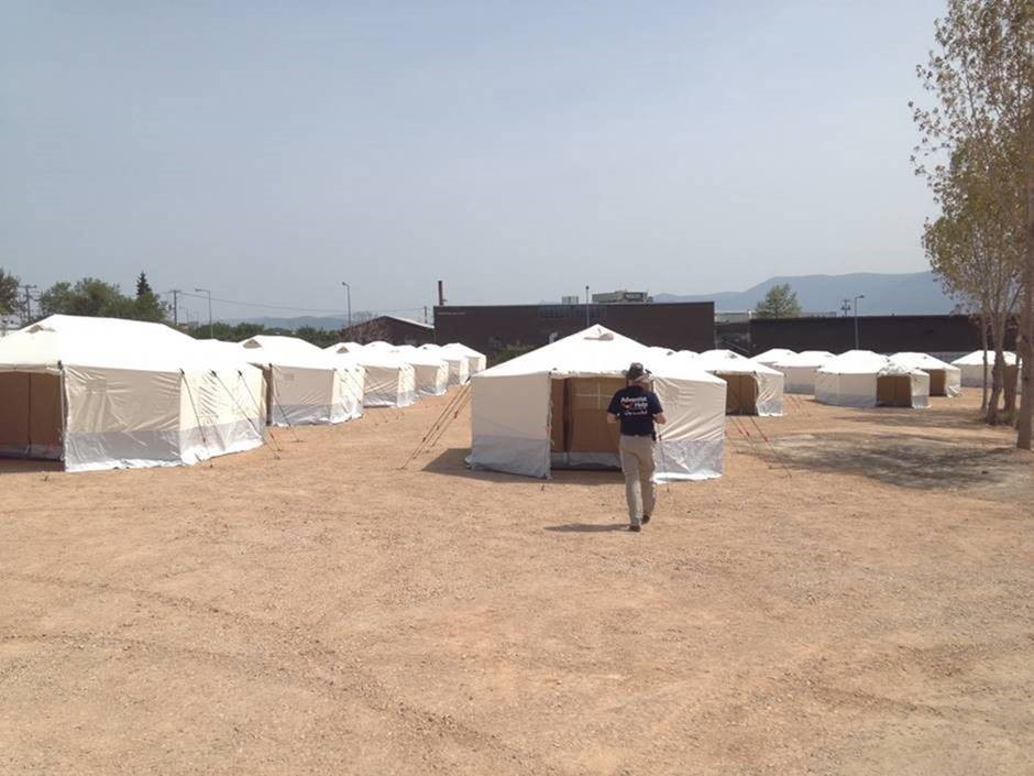 ASI Greece the tents