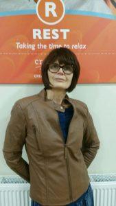 Theda Rall au Centre Cuisle à Dublin, Irlande. (Gracieuseté de Gina Wahlen)