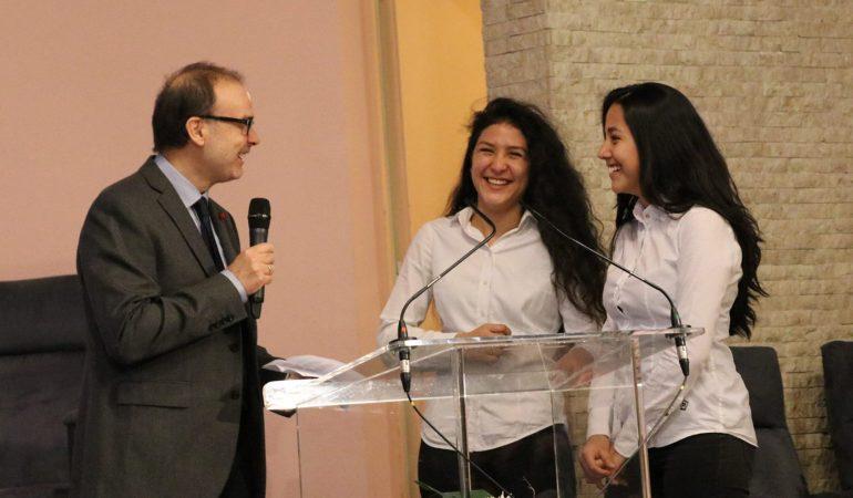 SAGESSE DE DIEU, FOLIE POUR LE MONDE  – BAPTÊMES DE MARIA JOSE ET BLANCA