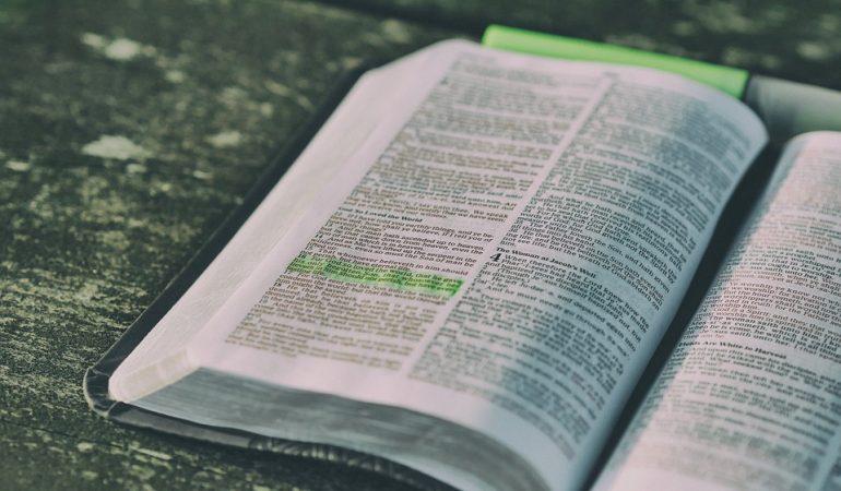 TRÈS SIMPLE, TRÈS PROFONDE… LA BIBLE