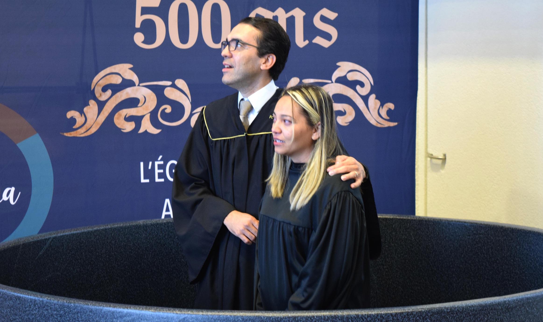 AMOUR FAMILIAL, SPIRITUEL ET DIVIN – BAPTÊME DE CLEANE À NEUCHÂTEL LUSO-HISPANIQUE