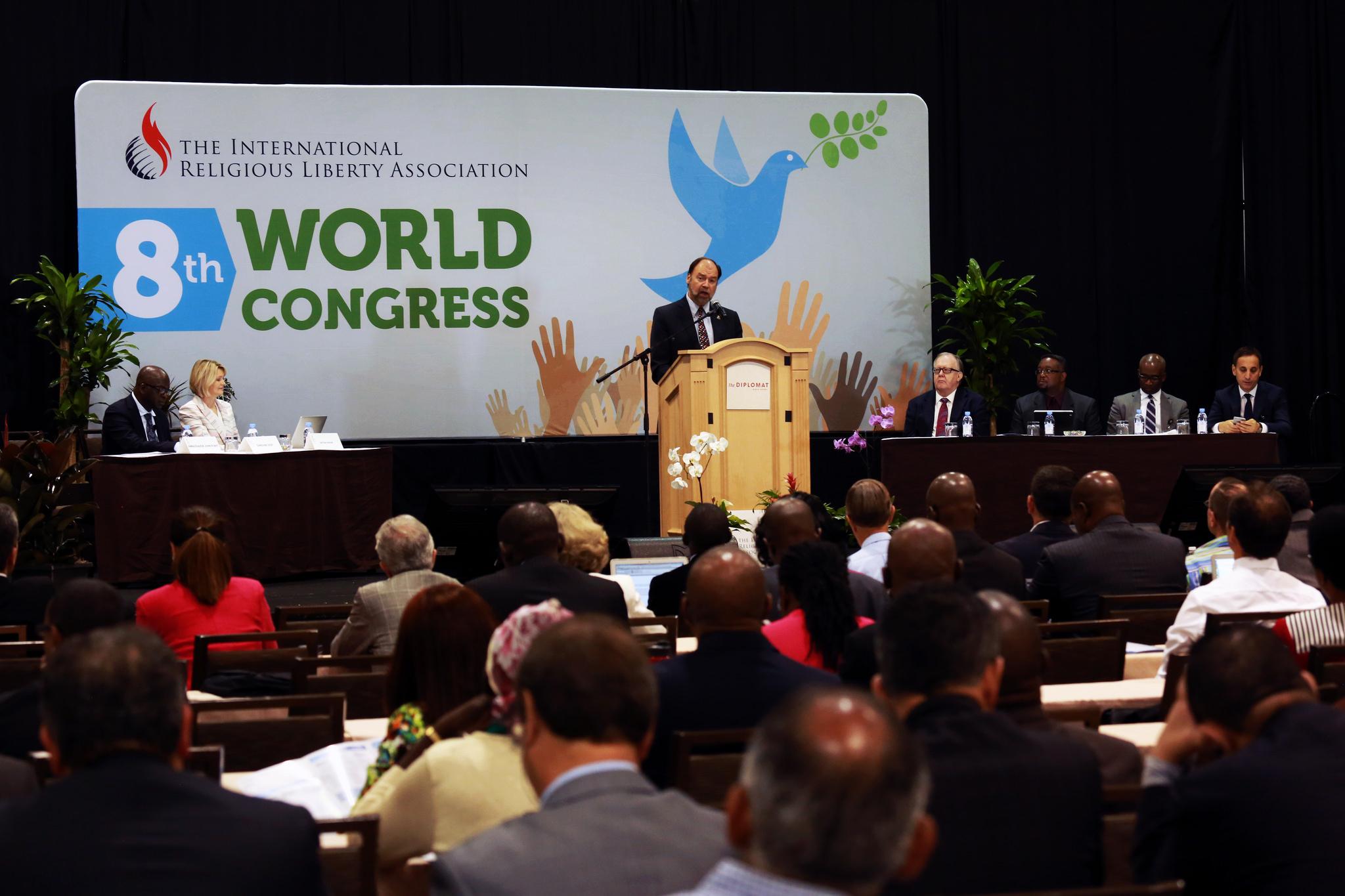 «HOPE FOR PEACEFUL CO-EXISTENCE» 8ÈME CONGRÈS MONDIAL DE LA LIBERTÉ RELIGIEUSE