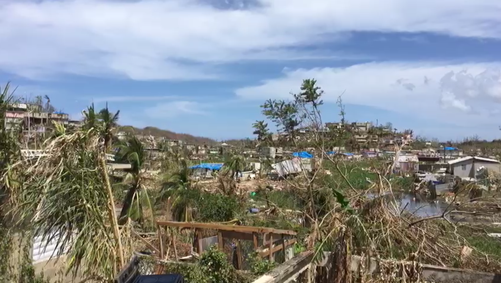 PORTO RICO DÉVASTÉ : L'ÉGLISE ADVENTISTE APPORTE SON AIDE
