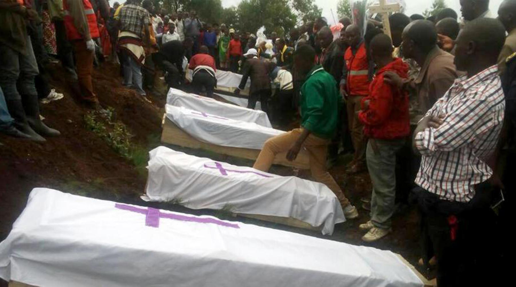 LA FOUDRE TOUCHE UNE ÉGLISE ADVENTISTE AU RWANDA ET FAIT 15 MORTS