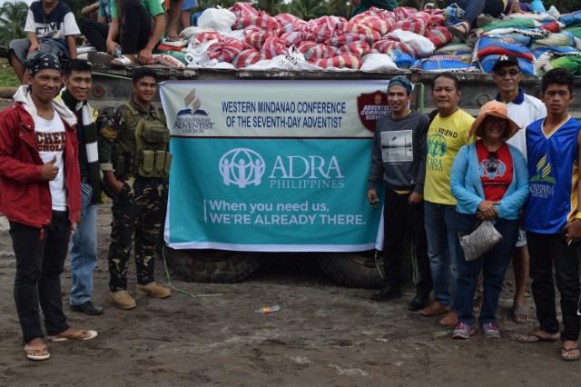 ADRA SUISSE AUX PHILIPPINES : LA LITERIE EST DISTRIBUÉE